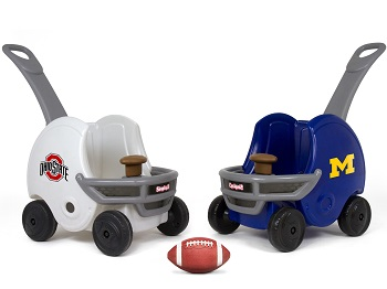 Simplay3 Game Day Push About Helmet perfect for passing down fandom to the next generation