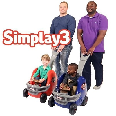 Simplay3 Game Day Helmet is the perfect ride for the littlest fan