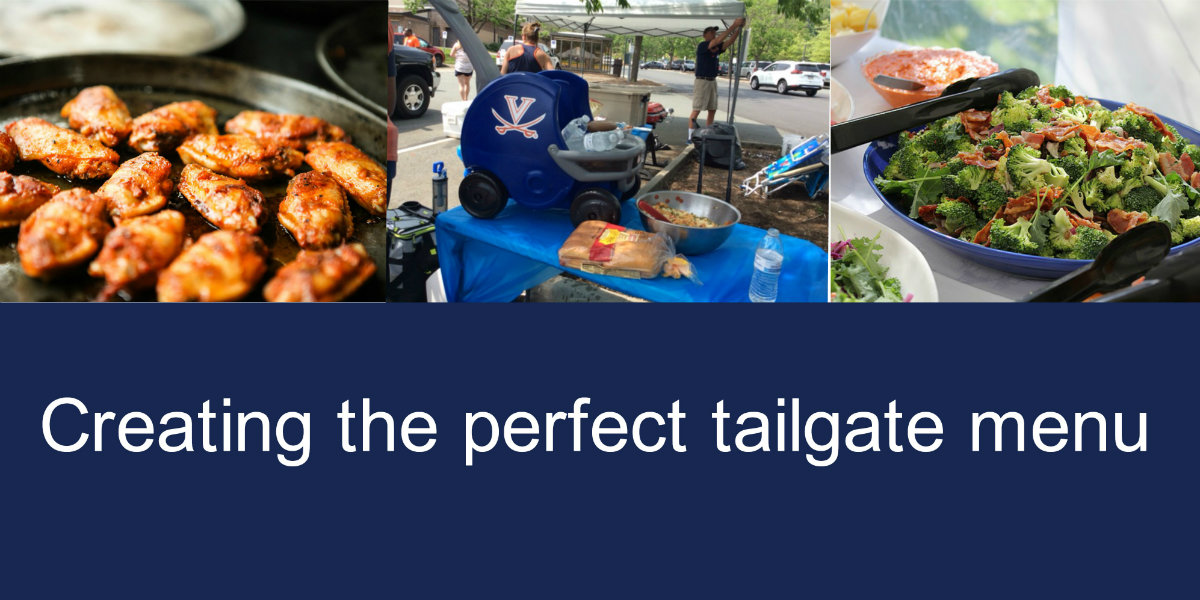 Create the perfect tailgate menu that's sure to please every fan