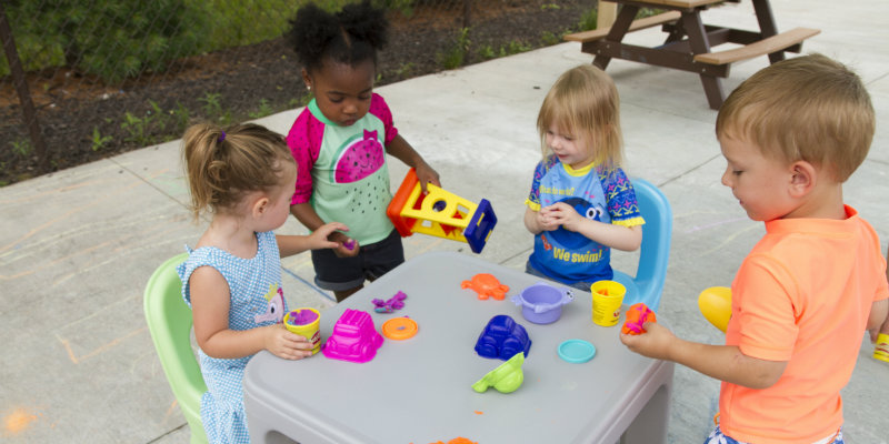 Playing outside in groups gives kids the chance to develop soft skills