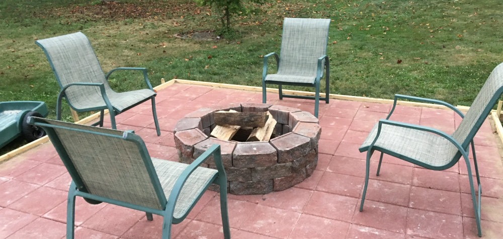 Enjoy your DIY fire pit