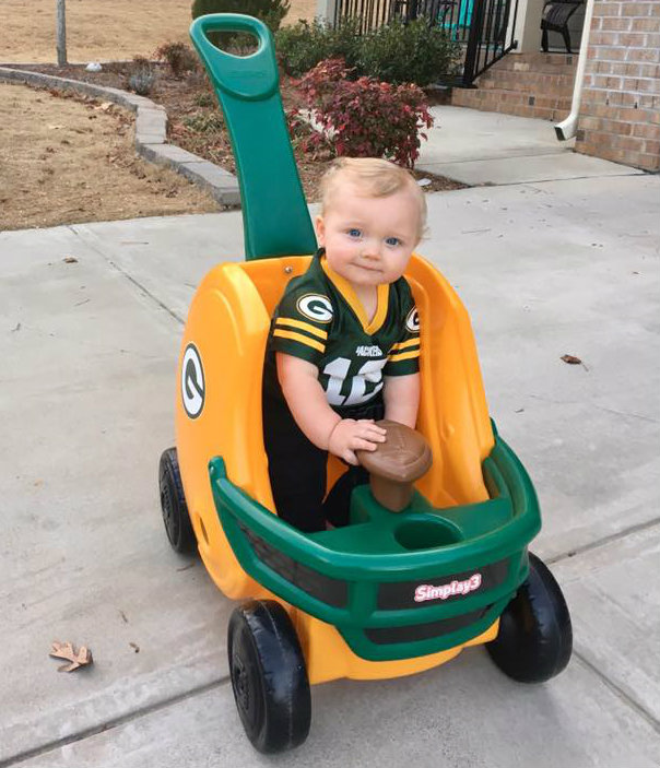 Green Bay's Littlest Fan