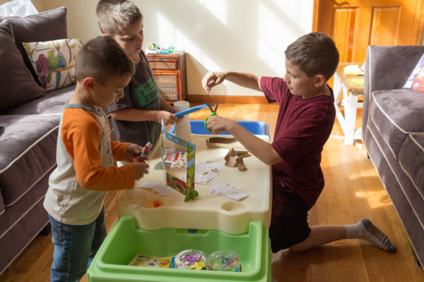 Inspire STEM learning by turning the In & Out Activity Table into a Space Maker
