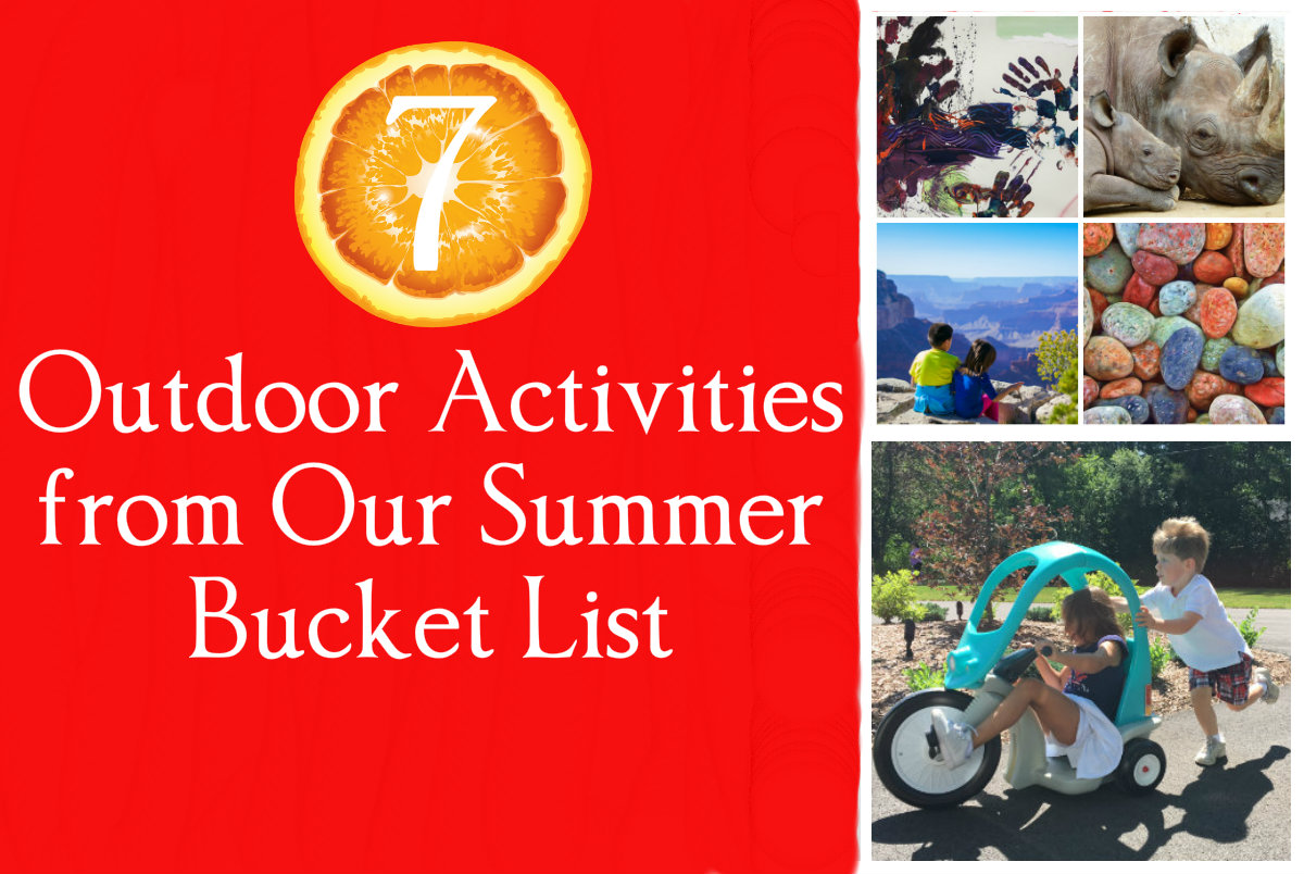 7 Outdoor Activities from Our Summer Bucket List